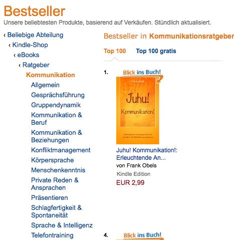 Juhu! Kommunikation! Bestseller